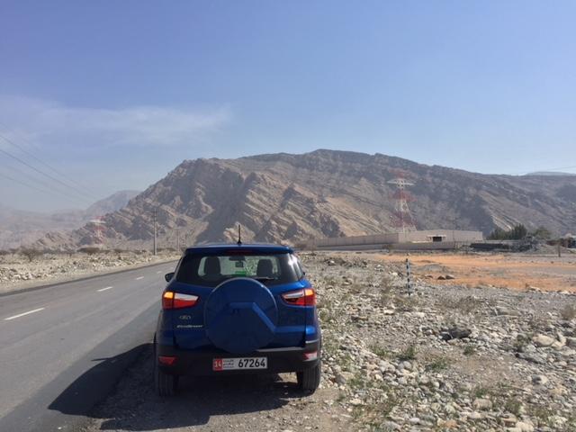 Estrada para Jebel Jais
